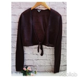 🐩Ann Taylor Aubergine Mohair Sweater